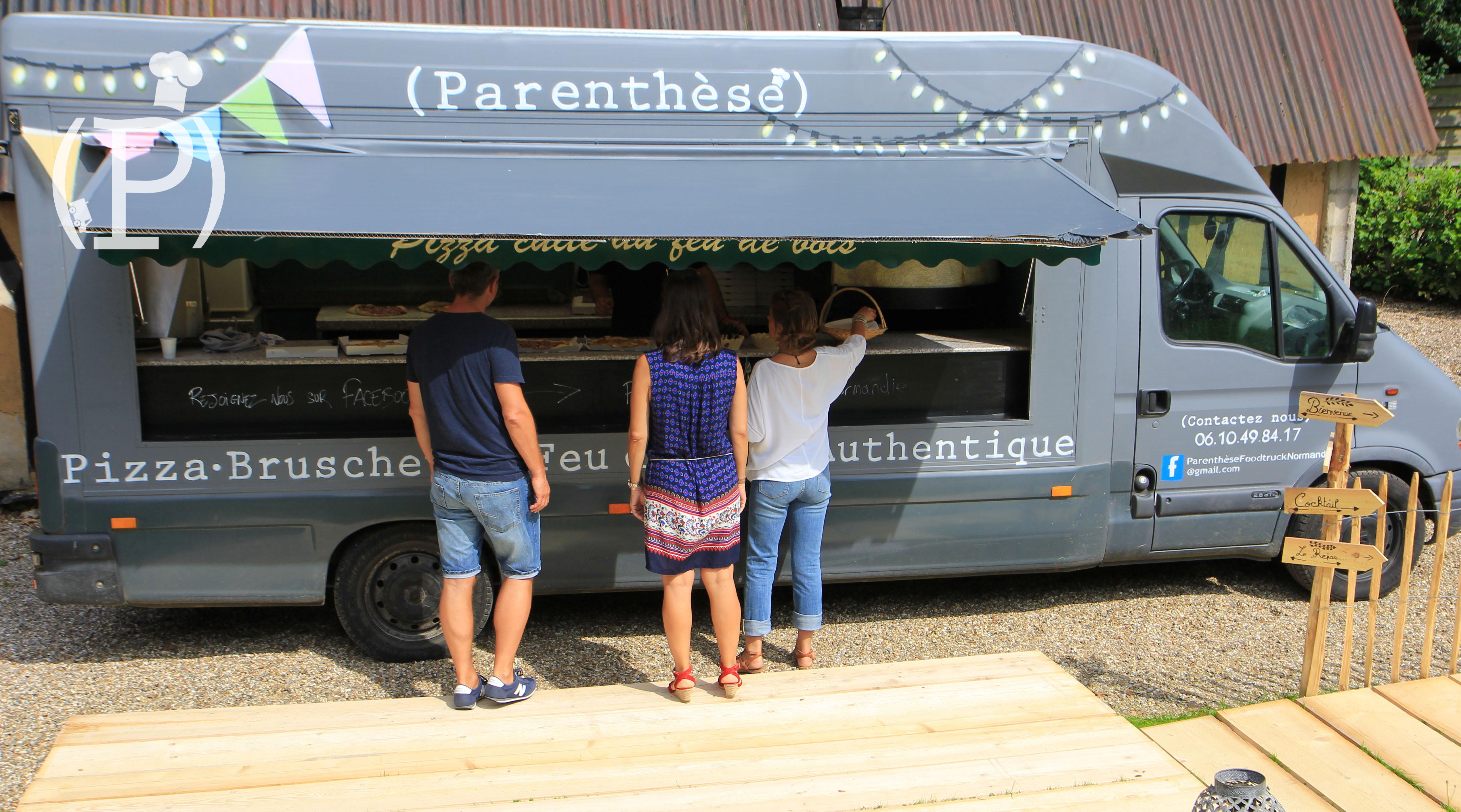 privatisation camion pizza au feu de bois - Location Camion Pizza Mariage