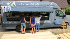 Privatisation camion pizza au feu de bois