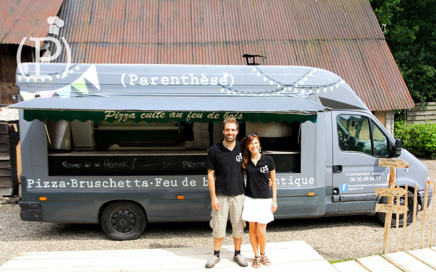 parenthse foodtruck - Location Camion Pizza Mariage